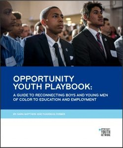 Opportunity Youth Ploybook Cover